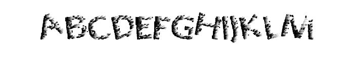 QuantumPixel Font UPPERCASE