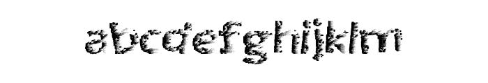 QuantumPixel Font LOWERCASE