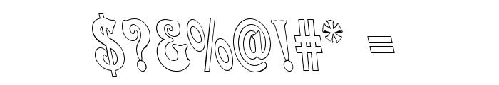 Quardi Bold Italic Font OTHER CHARS