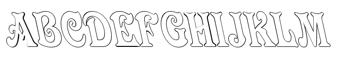 Quardi Bold Italic Font UPPERCASE