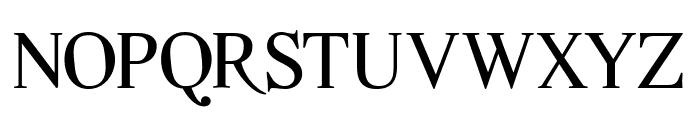 Quarella Regular Font UPPERCASE