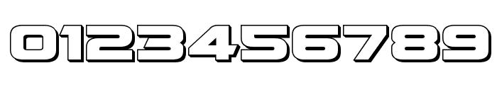 Quark Storm 3D Regular Font OTHER CHARS
