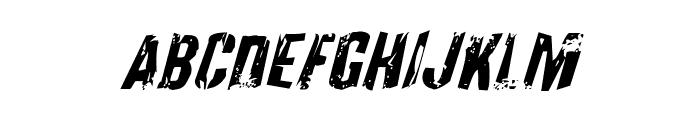 Quarrystone Italic Font UPPERCASE