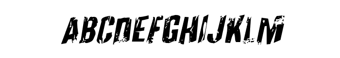 Quarrystone Rotalic Font UPPERCASE