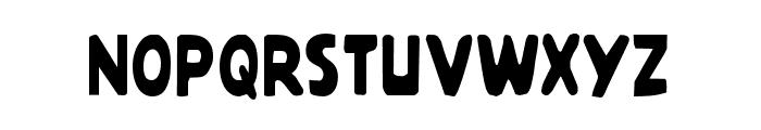Quartermain Condensed Font UPPERCASE