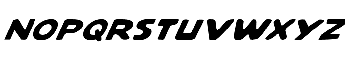 Quartermain Italic Font UPPERCASE