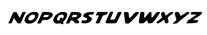 Quartermain Italic Font LOWERCASE