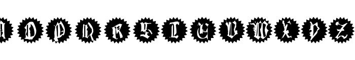 QuasiModoButtons Font UPPERCASE