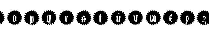 QuasiModoButtons Font LOWERCASE