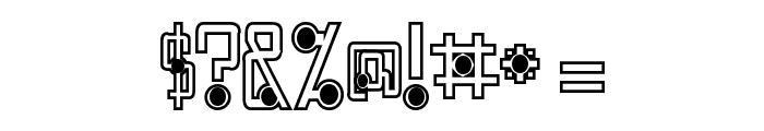 Quasidipitous Black Spot Font OTHER CHARS
