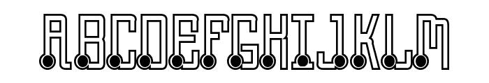 Quasidipitous Black Spot Font UPPERCASE