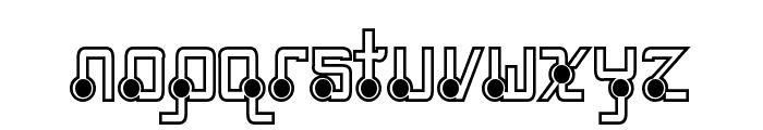 Quasidipitous Black Spot Font LOWERCASE