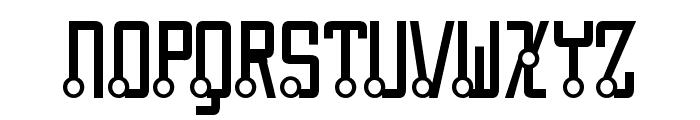 Quasidipitous Font UPPERCASE