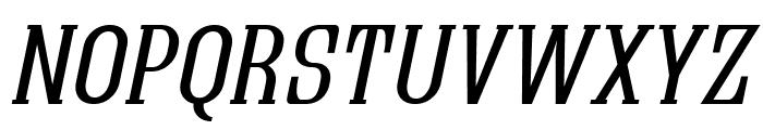 Quastic Kaps Italic Font UPPERCASE