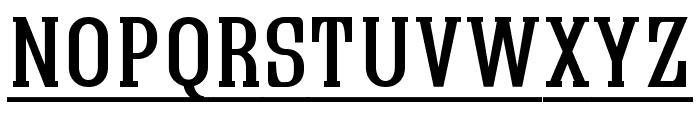 Quastic Kaps Line Font LOWERCASE
