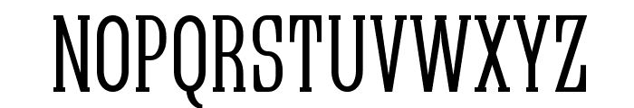 Quastic Kaps Narrow Font UPPERCASE