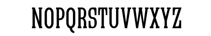 Quastic Kaps Narrow Font LOWERCASE