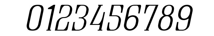 Quastic Kaps Thin Italic Font OTHER CHARS
