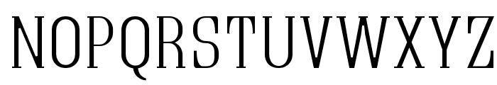 Quastic Kaps Thin Font UPPERCASE