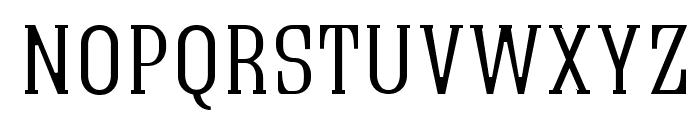 Quastic Kaps Thin Font LOWERCASE