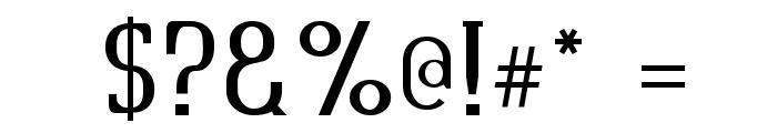 Quastic Kaps Font OTHER CHARS