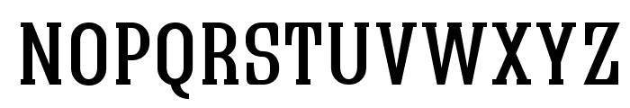 Quastic Kaps Font LOWERCASE