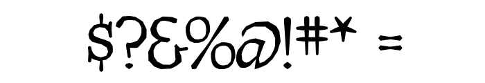 Quasymodo Font OTHER CHARS