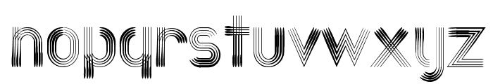 Quatroline Font LOWERCASE