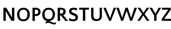Quattrocento Sans Bold Font UPPERCASE