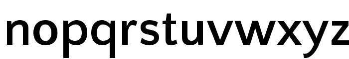 Quattrocento Sans Bold Font LOWERCASE