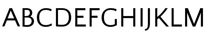 Quattrocento Sans Font UPPERCASE