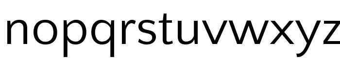 Quattrocento Sans Font LOWERCASE
