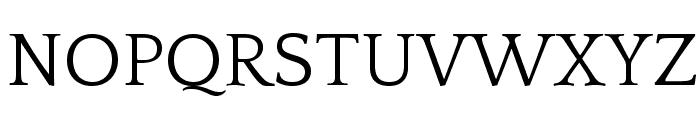 QuattrocentoRoman Font UPPERCASE