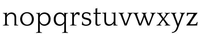 QuattrocentoRoman Font LOWERCASE