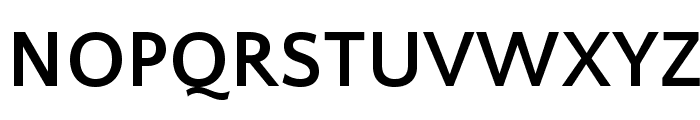 QuattrocentoSans-Bold Font UPPERCASE