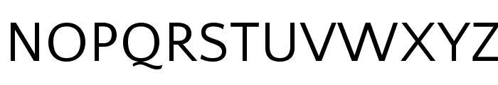 QuattrocentoSans Font UPPERCASE