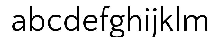 QuattrocentoSans Font LOWERCASE