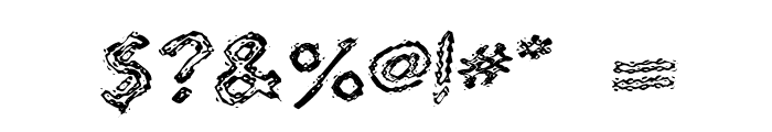 Quaverly G98 Font OTHER CHARS
