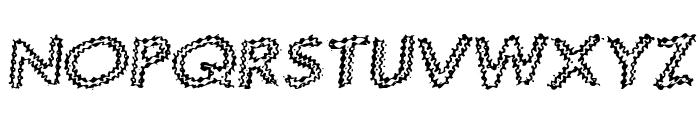 Quaverly G98 Font UPPERCASE