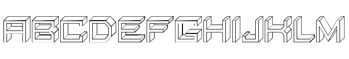 Qubio Regular Font UPPERCASE