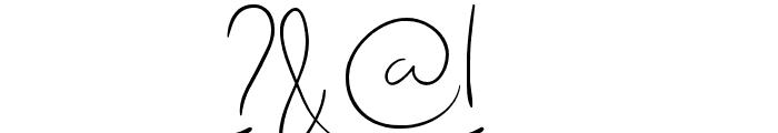 Quebec Font OTHER CHARS