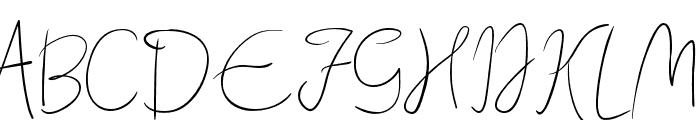 Quebec Font UPPERCASE