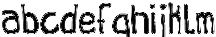 Queen Destroy tfb Font LOWERCASE