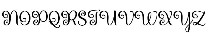 Queen Xylophia Regular Font UPPERCASE