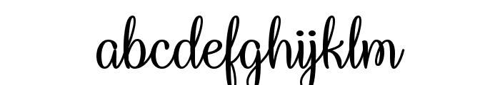 Queen Xylophia Regular Font LOWERCASE