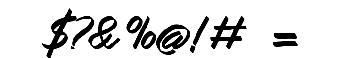 Queenata Font OTHER CHARS