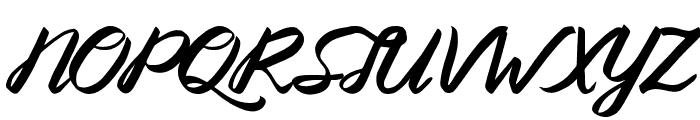 Queenata Font UPPERCASE
