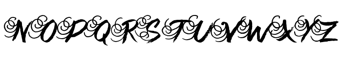 Queenie Beebie Font UPPERCASE