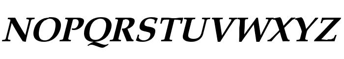 Queens Park Bold Italic Font UPPERCASE