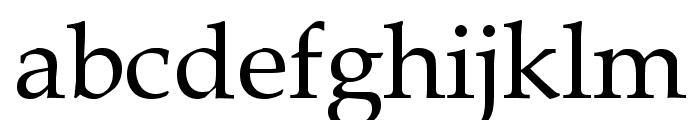 Queens Park Font LOWERCASE